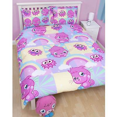 Moshi Monsters Double Bed Poppet Duvet Cover Set Including 2 Pillowcases