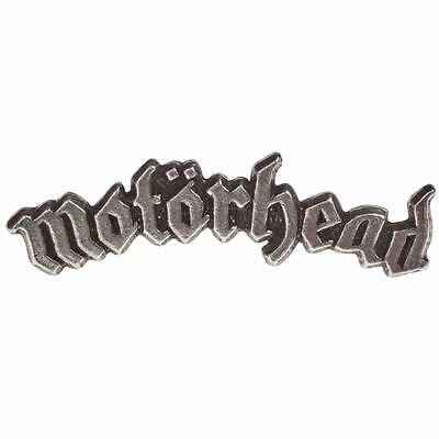 Alchemy Rocks Motorhead Arched Logo Metal Pin Badge Brooch Pewter Official