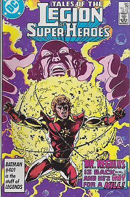 Tales Of The Legion Of Super-Heroes #340 Dc 1986 Dr. Regulus!