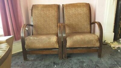 Suparest Art Deco Armchairs
