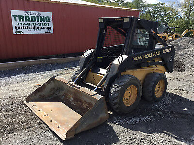 1997 New Holland LX565 Skid Steer Loader!