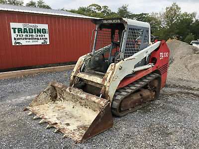 2004 Takeuchi TL130 Tracked Skid Steer Loader!
