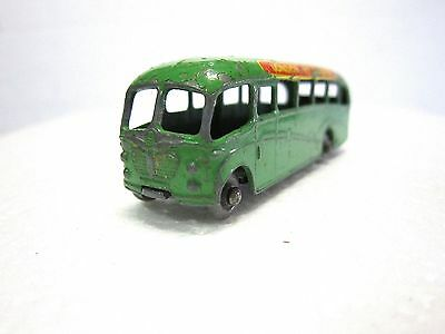 LESNEY MATCHBOX #21 Diecast LONG DISTANCE COACH 1958 Used No box