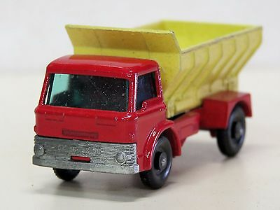 LESNEY MATCHBOX #7 Diecast GRIT SPREADING TRUCK #70 1966 No Box  Good condition