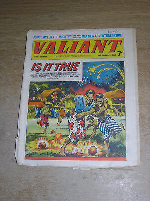 Valiant 6th December 1969