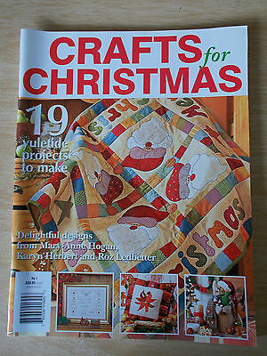 Crafts For Christmas #1~Quilts~Snowman~Reindeer~Cushions~Cat~Bag~Stitcheries...