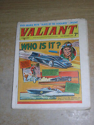 Valiant 12th September 1970