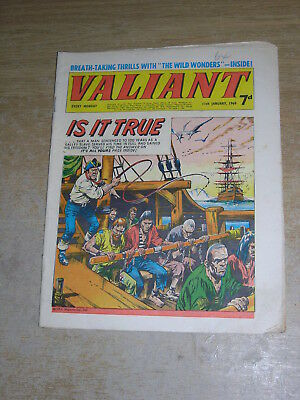 Valiant 11th January 1969