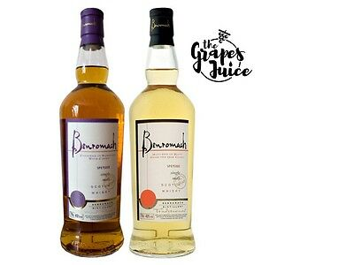 2Bt Whisky Speyside Single Malt Sassicaia Wood Finish + Traditional Benromach