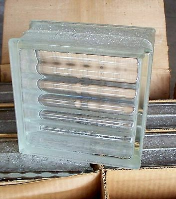 Vintage Pittsburgh Glass Blocks new in box 14 made in USA