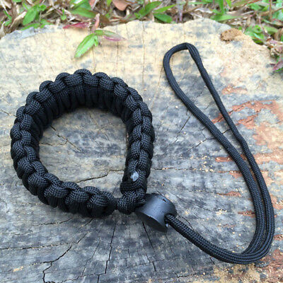 Strong Camera Adjustable Wrist Lanyard Strap Grip Weave Cord for Paracord DSLR