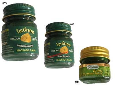 Thai Tiger Type Balm Chinese Tiger Head Balm Massage Pain Relief Insect Bites