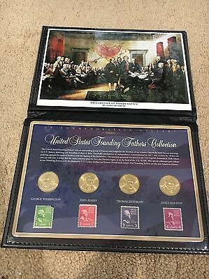 US Commemorative Gallery, The United States Founding Fathers Collection