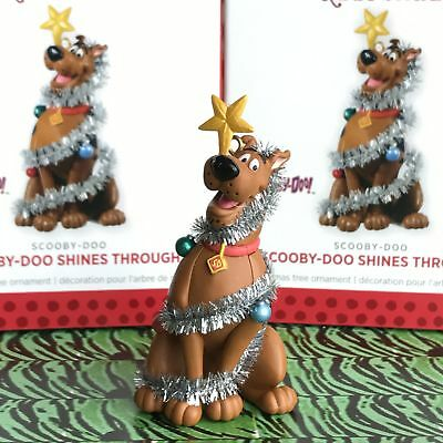 Hallmark Keepsake Christmas Tree Ornament Scooby-Doo Shines Through