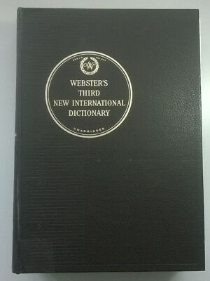 Webster's Third New International Dictionary, G.&C. Merriam Co., 1971