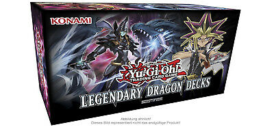 YuGiOh Legendary Dragon Decks holiday box deutsch Neu & Ovp release 05.10.2017