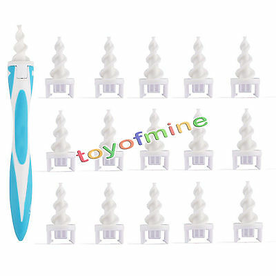 Easy Swab Earwax Removal Soft Spiral Ear Cleaner