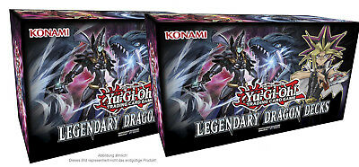 YuGiOh 2x Legendary Dragon Decks holiday box deutsch Neu&Ovp release 05.10.2017