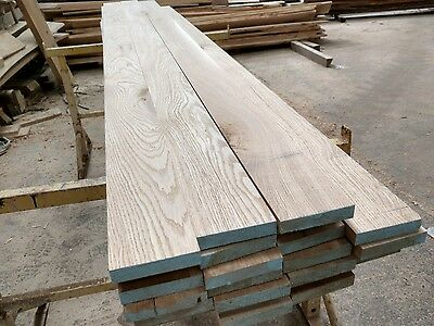 Solid Oak Square Edge Skirting Board 100mm