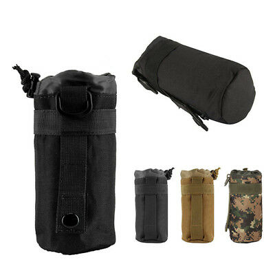 Tactical Molle Military Water Bottle Hydration Pouch Bag Carrier Outdoor Hiking