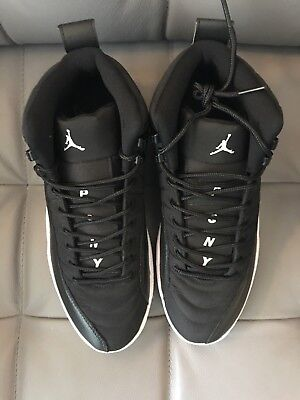 new product 8ad05 2e1a4 BRAND NEW AIR Jordan 12 PSNY Friends and Family Black White Sample ...