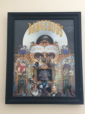 Michael Jackson Industry recognised   record Award for Dangerous