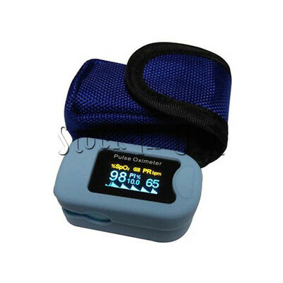 Silicone Case+Hanging bag For Heart Rate Monitor Blood Oxygen meter OLEDM 130b