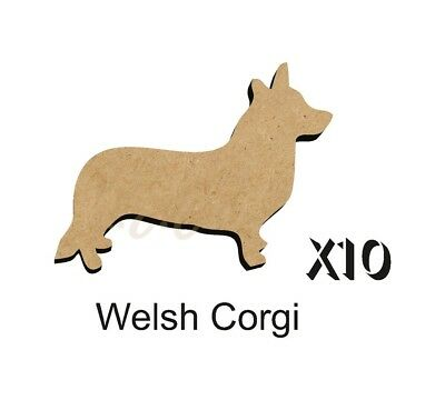 MDF Shape Dog 10 CAVALIER KING CHARLES SPANIEL MDF cutouts craft 5 SiZE DOGW099