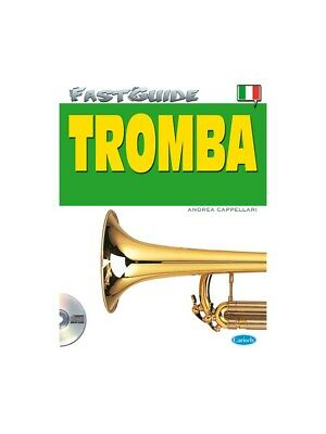 Fast Guide Tromba Italiano Learn to Play Present Gift MUSIC BOOK & CD Trumpet