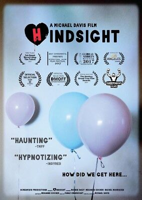 POSTER Hindsight (USA, 2017) Ronnie Daily, Meganne Kocher, Rachel Rodrigues A26E