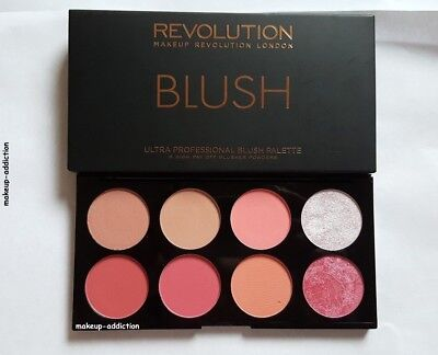 Makeup Revolution Blush Palette Sugar & Spice blusher palette pink highlighter