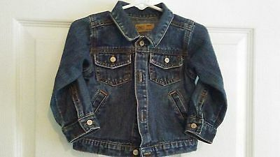 Old Navy Denim Jacket Infant Toddler Size 12-18 months