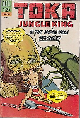 Toka.jungle King #7 Dell 1966 Is The Impossible..possible?