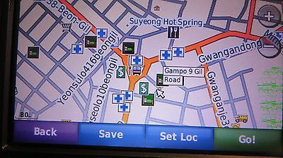 Garmin Nuvi GPS W Map Choice Of South Korea Thailand - Garmin map indonesia us