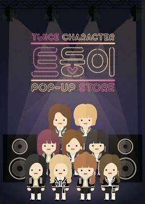 Twice Character Pop-Up Store Official Goods Character Cushion New