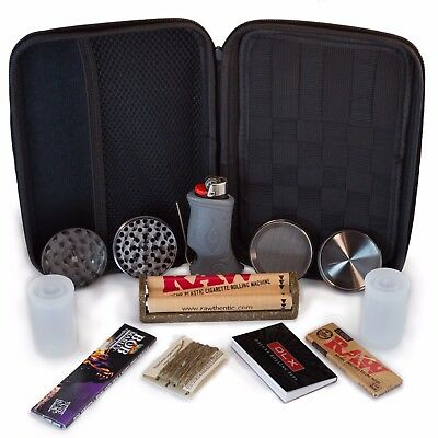 Perfect Pregame Premium Smoker's Kit - Accessories and Carrying Case Bundle