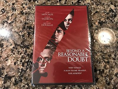 Beyond A Reasonable Doubt New Sealed DVD! 2009 Death Thriller! Outland Talver