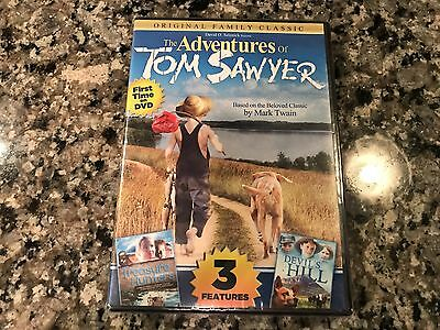 The Adventures Of Tom Sawyer New Sealed DVD! 1986 ABC TV Movie! Devils Hill