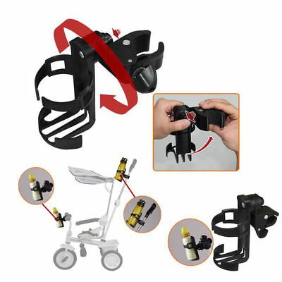 Universal Drink Milk Bottle Cup Holder for Stroller Pushchair Buggy Pram Bicycle
