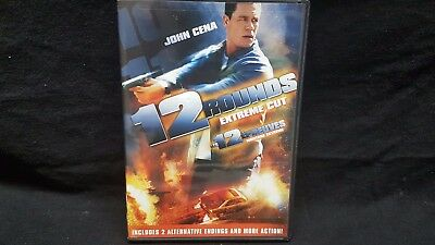 12 Rounds (DVD, 2009, Canadian Rated/Unrated)