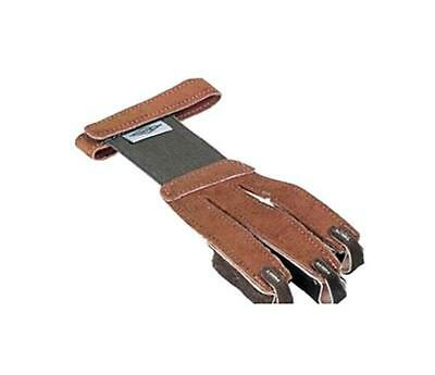Shooting Glove Tan Suede Leather Tips