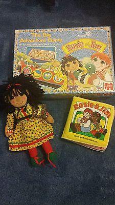 Rosie And Jim Rosie Doll,Game And Book.