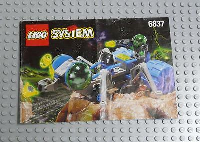 LEGO INSTRUCTIONS MANUAL BOOK ONLY 6837 Cosmic Creeper x1PC