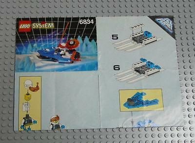 LEGO INSTRUCTIONS MANUAL BOOK ONLY 6834 Celestial Sled x1PC