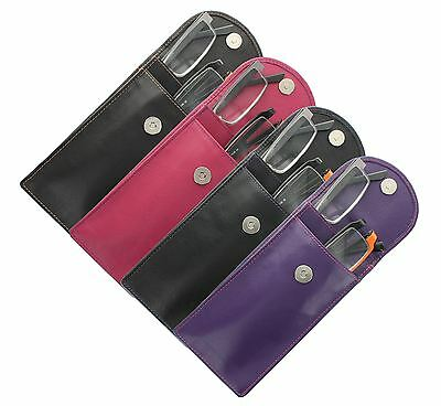 Mala Leather ODYSSEY Soft Leather Double Spectacle Case Holder 560_14