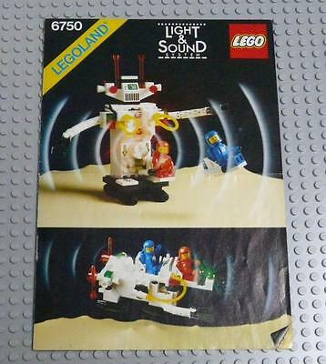 LEGO INSTRUCTIONS MANUAL BOOK ONLY 6750 Sonic Robot x1PC