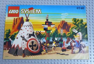 LEGO INSTRUCTIONS MANUAL BOOK ONLY 6746 Chief's Tepee  x1PC