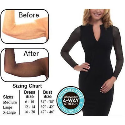 Amazing Arms Slimming And Concealing Arm Wrap From Flab To Fab As Seen On TV