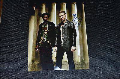 MASSIVE ATTACK signed Autogramm 20x28 cm In Person BANKSY ?