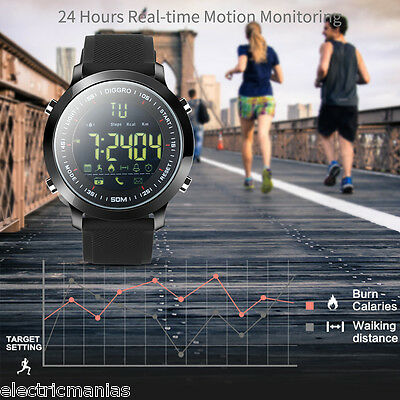 Reloj Inteligente Smartwatch Impermeable Bluetooth Deporte Podómetro Notificar